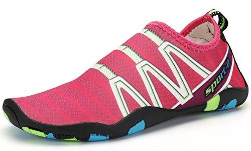 PENGCHENG Water Sports Shoes Men Women Beach Swim Barefoot Skin Quick-Dry Aqua Socks by PENGCHENG