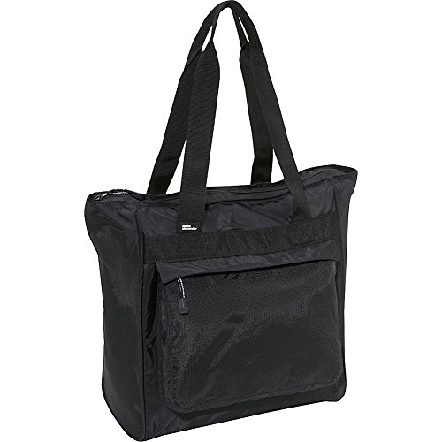 derek-alexander-large-top-zip-shopper-black-one-size