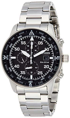 Citizen CA0690-88E Men's Eco-Drive Black Dial Chronograph Watch