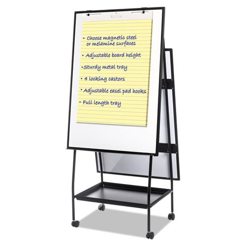 BVC EA49125016 Mastervision Creation Station Easel Silver Easy Clean Dry Erase by BVC 1.6