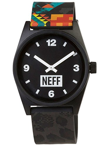 Neff Men's Daily Wild Watch Psychosafari Black (Watch Neff)