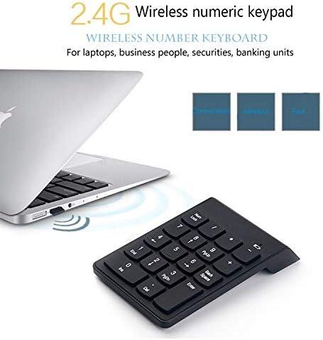 Convenient Keyboards Keyboard Computer Wireless Numeric Keyboard Chocolate Mute Button Computer Notebook Finance Bank Universal 2.4G Wireless Keyboard Camcorder Action Vidio Accessories Efficient