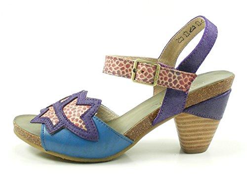 10 Blau 10 Vita Femme Mode Laura SL235 Sandales Dax wv8IAH