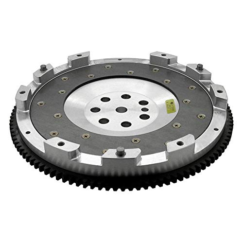 Fidanza Performance 161781 Flywheel-Aluminum PC Mit1 High Performance Lightweight with Replaceable Fricti