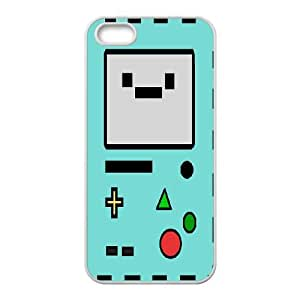 Custom Beemo Adventure Time Cover Case, Custom Hard Back Phone Case for iPhone 5/5G/5S Beemo Adventure Time