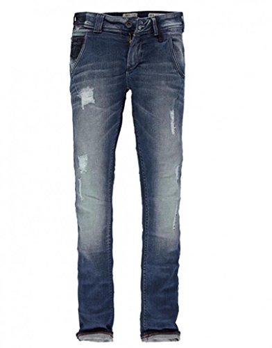 Garcia Damen Stretch-Jeans LAURI U40117-1224 Petrol Used: Weite: W26 | Länge: L32