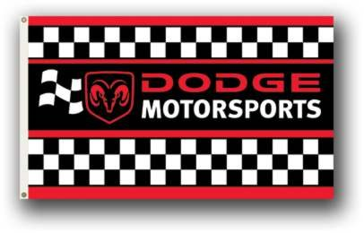 NEOPlex Dodge Motorsports Traditional Flag ()