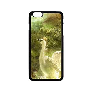 Artistic oil painting swan Phone Case for iPhone 6