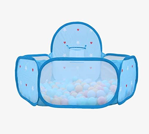 説教制約香ばしいZYH 屋内マリンボールプール、子供の部屋テントゲームハウス赤ちゃんおもちゃの部屋屋外ポータブル大きなスペースの動きおもちゃのテント60 * 74CM 広いスペース (色 : Pink)