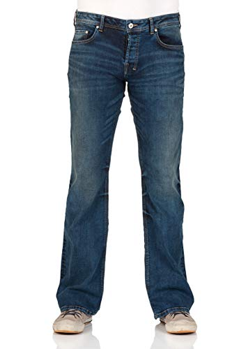 3923 Herren Blue Ltb cut Wash Tinman Jeans Jeanshose Boot Lapis zqqFYp5