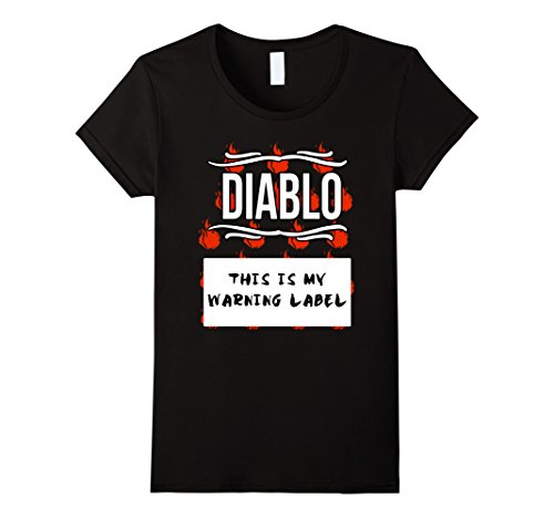 Womens GROUP HALLOWEEN COSTUME T-shirt - DIABLO HOT SAUCE Shirt XL (Diablo Costume)