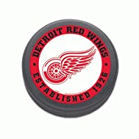 NHL Eishockey Puck Detroit Red Wings