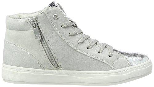 25202 Sneaker Tozzi Gris Marco Haute Lt grey Femmes peigne w4zEX
