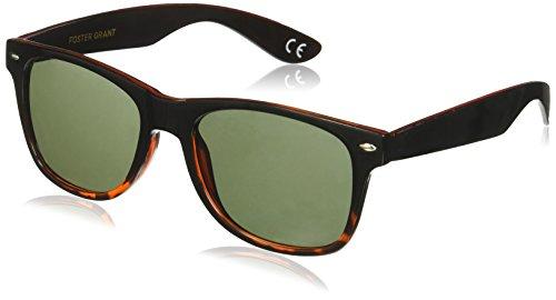 Foster Grant Men's Mistery Man Wayfarer Sunglasses, Brown, 158 - Foster Grant For Men Sunglasses