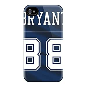 Ymt4764VYhT Tpu Case Skin Protector For Iphone 4/4s Dallas Cowboys With Nice Appearance