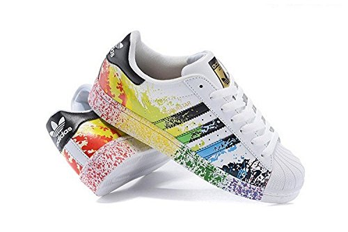 Adidas Originals Women's Superstar W Fashion Sneaker Size US 5