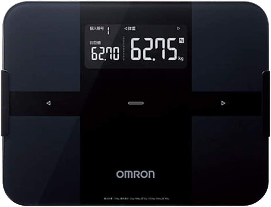 オムロン 体重体組成計 HBF-255T-BK