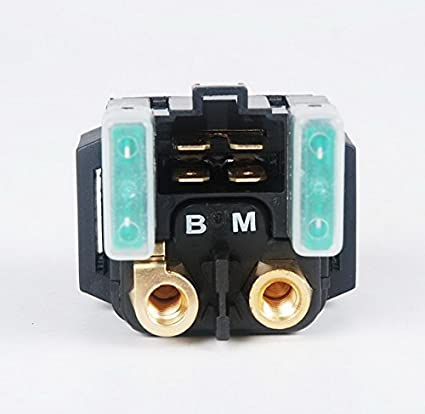 amazon com: starter relay solenoid yamaha grizzly 350 400 450 660 rl08:  automotive