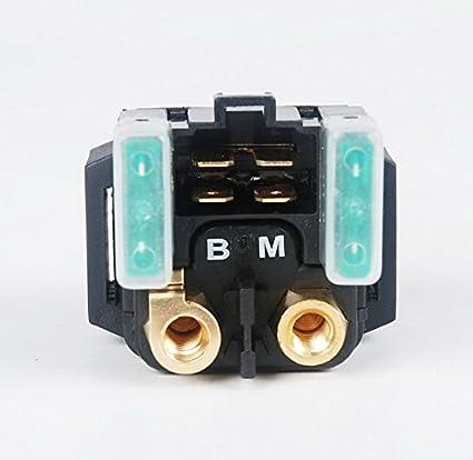 amazon com starter relay solenoid yamaha grizzly 350 400 450 660amazon com starter relay solenoid yamaha grizzly 350 400 450 660 rl08 automotive
