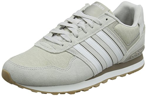 One White Gimnasia White Hombre Grey Crystal Brown S16 F17 Light Zapatillas F17 S16 One Crystal de Light Brown Adidas para 10k Grey Gris q8PwHw