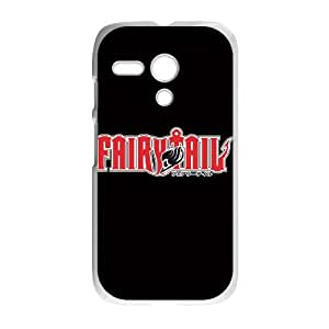 Motorola G Cell Phone Case White Fairy Tail Logo SP4160067