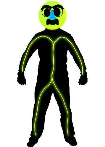 Halloween Costume Led Light Stick Figure in US - 5