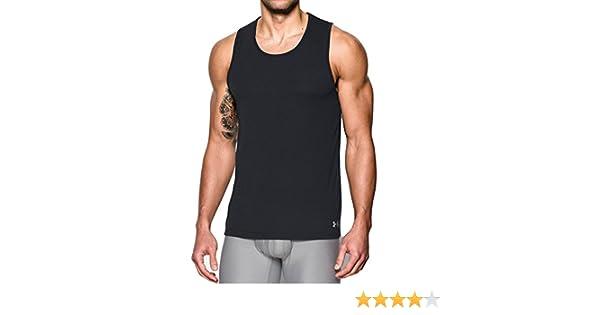 8d3c50478a5dc Amazon.com  Under Armour Men`s UA Core Tank Undershirt – 2-Pack  Sports    Outdoors