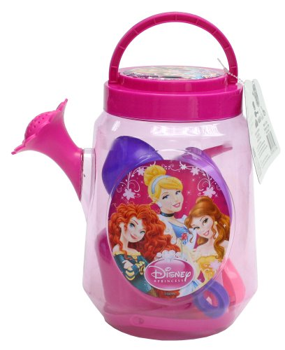 Princess Bucket Set (What Kids Want! Disney Princess Large Clear Watering Can (Filled))