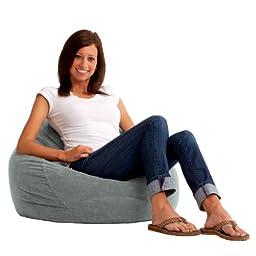 Comfort Research Ultra Lounger in Comfort Suede, Steel Grey