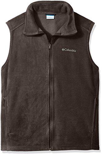 Columbia Men's Big Steens Mountain and Tall Vest, Buffalo, (Brown Fleece Vest)