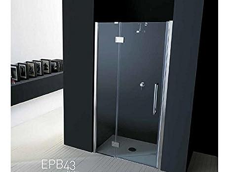 TAMANACO Box Doccia per Nicchia Porta a Battente in vetro 6 mm varie ...