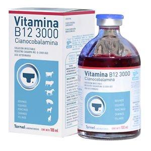 VITAMINA B12 3000 CIANOCOBALAMINA VITAMINA B12 3000 CIANOCOBALAMINA