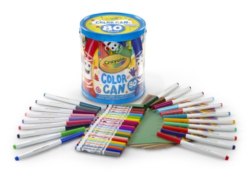 Crayola Metal Pencils (Crayola Super Tips and Pips Marker Color Can)