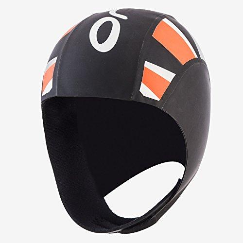 Orca Unisex Thermal Neoprene Swimcap (Black, Small/Medium)