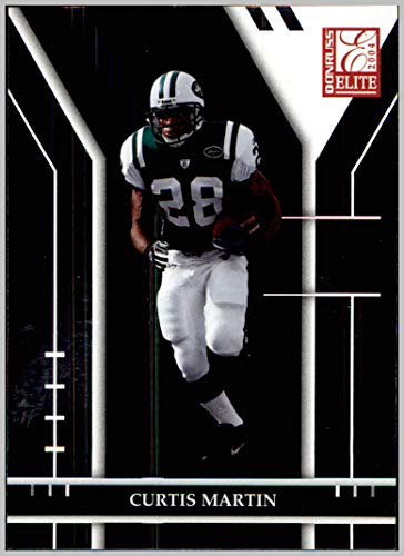 2004 Donruss Elite #68 Curtis Martin NEW YORK JETS PITTSBURGH PANTHERS - York Jets Curtis Martin New