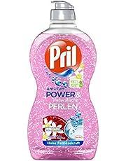 Pril Anti-vet Power & minerale parels, granaatappel & sinaasappelbloesem, handafwasmiddel, 450 ml