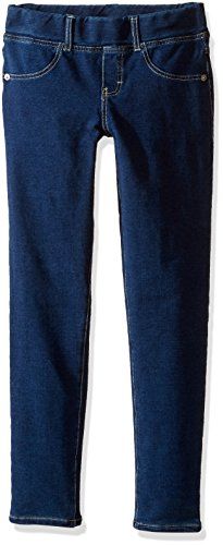 GUESS Big Girls' Pull on Knit Denim Anklle Length Jegging
