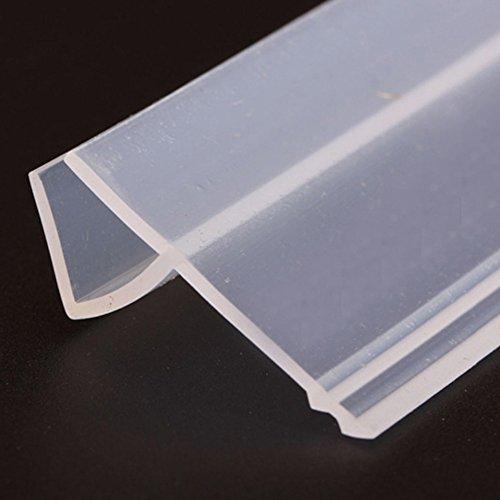Draft Stopper Frameless Glass Sliding Sash Screen Shower ...