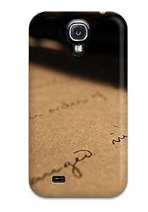 Hot Design Premium PNWLUcB953JnYNT Tpu Case Cover Galaxy S4 Protection Case(handwritten Letter)