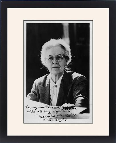 Framed Print Of Nadia-Juliette Boulanger, French Music Teacher