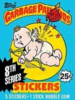 (Topps Garbage Pail Kids Trading Cards Series 8 Wax Booster Pack)