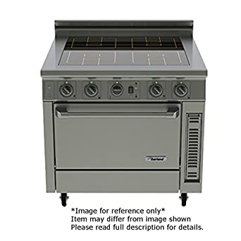Garland GME36 I20C Electric Floor Model Master Induction Range With 4 50 KW