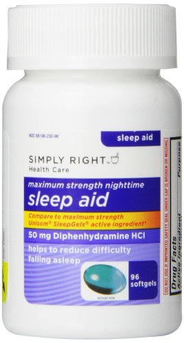Sleep Aid 192 ct Twin Pack 50 mg