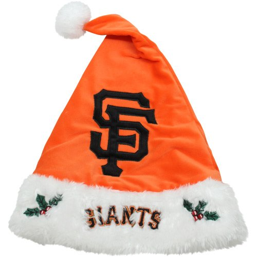 San Francisco Giants 2012 Team Logo Plush Santa Hat by Forever Collectibles