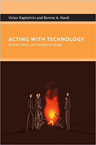 acting with technology activity theory and interaction design에 대한 이미지 검색결과