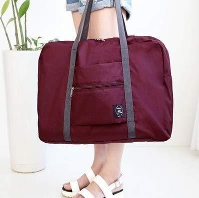 1 Pcs 18.9x12.6 Inch Waterproof Travel Bag for Women Men Pink Luggage Organizer Packing Cubes for Girl Large Capacity Waterproof Travel Duffle Bag