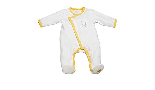 Pyjama bébé blanc/jaune naissance Babyfan - Sauthon: Amazon ...