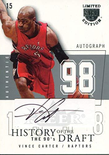 Vince Carter Autographed 2003-04 Fleer Skybox -