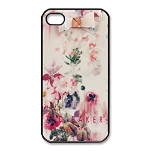 iPhone 4,4S Phone Case Black Ted Baker logo AC8644180