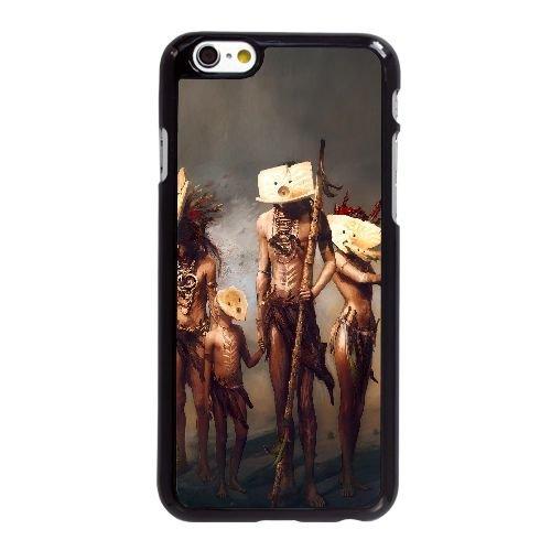 E9F68 projet coque iPhone de D2O6GR de poussière 6 4.7 pouces cas de couverture de téléphone portable coque noire WX6ZRC8MJ